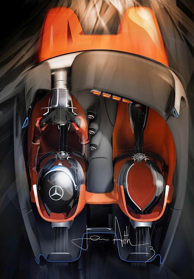 It Sure Is Tight In The Amg Vision Gran Turismo Autoevolution