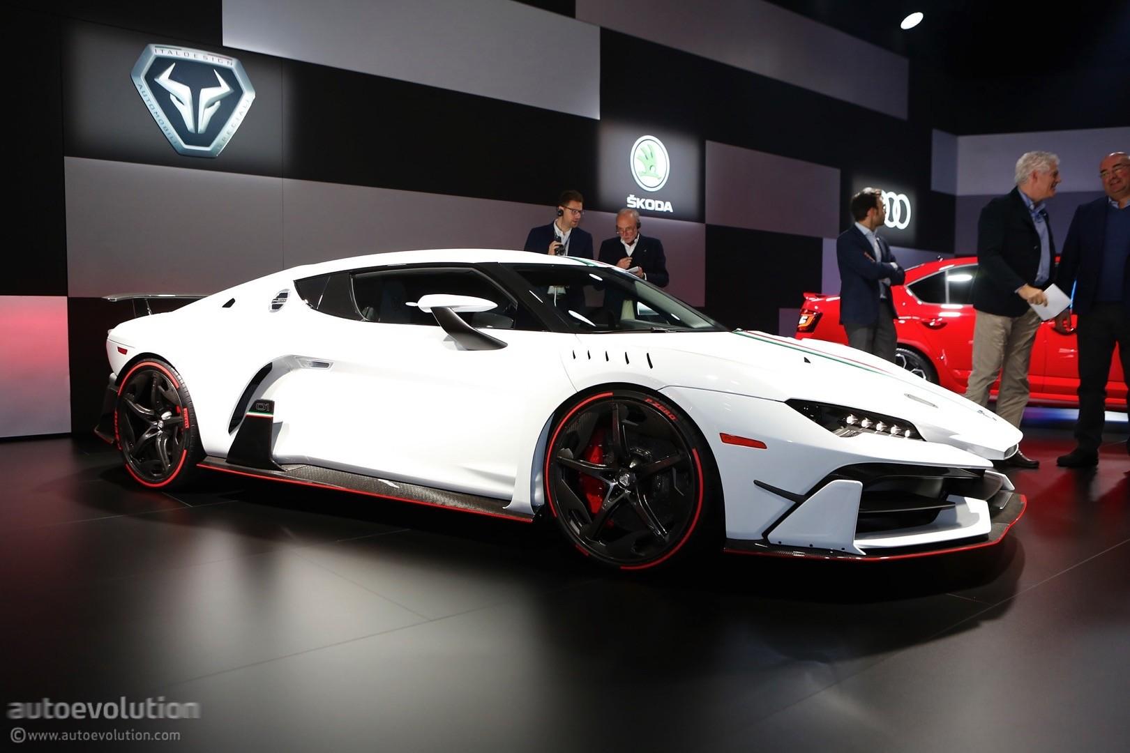 Italdesign zerouno roadster en route to 2018 geneva motor show autoevolution - Geneva car show ...