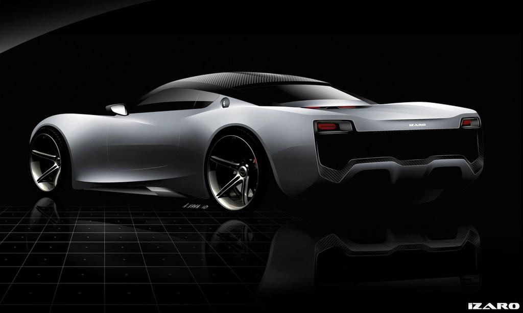 izaro gt e electric supercar initial details and photos   photo