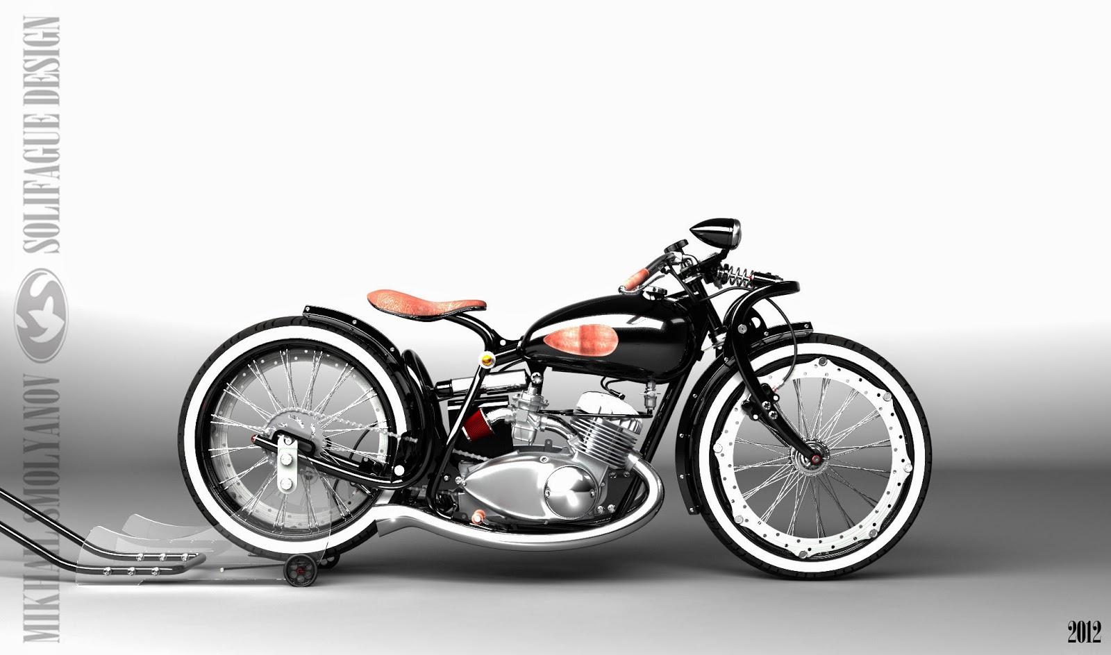 Restoration motorcycle IZH Jupiter-5 25