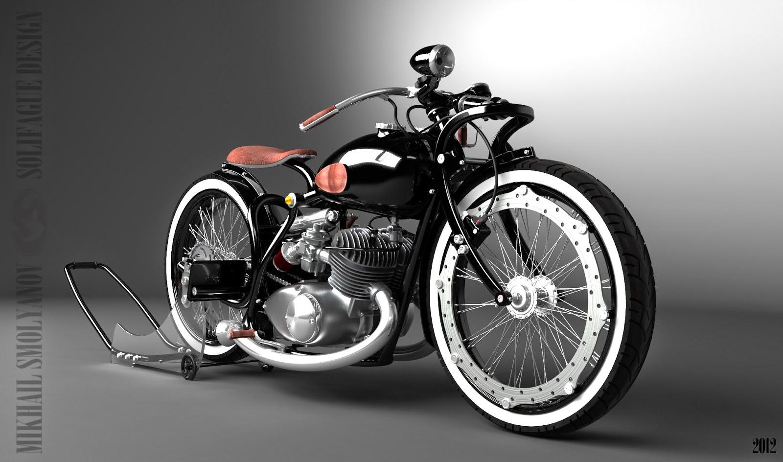 Restoration motorcycle IZH Jupiter-5 51