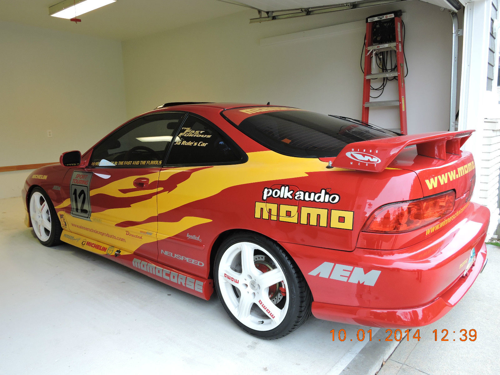 Ja Rules Acura Integra Gsr From Fast Furious Is On Ebay on 2001 Acura Integra