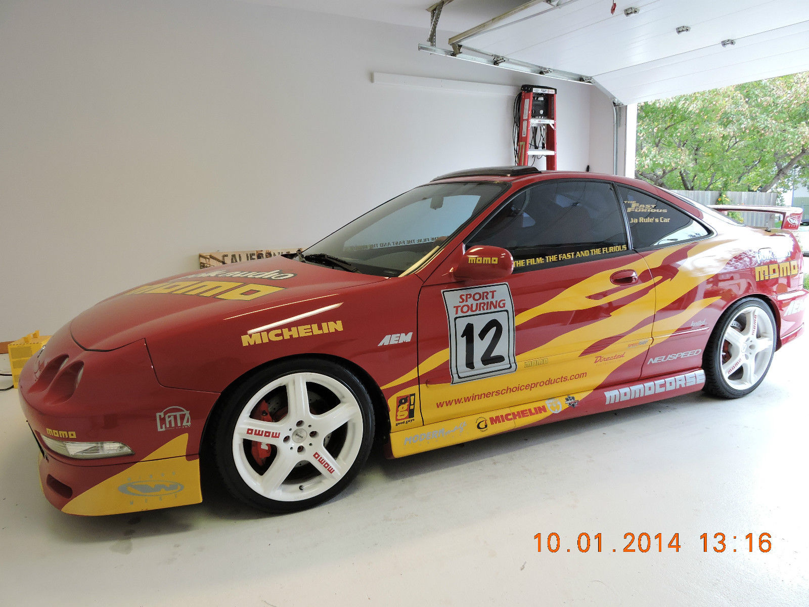 Ja Rule S 1996 Acura Integra Gsr From Fast Amp Furious Is On