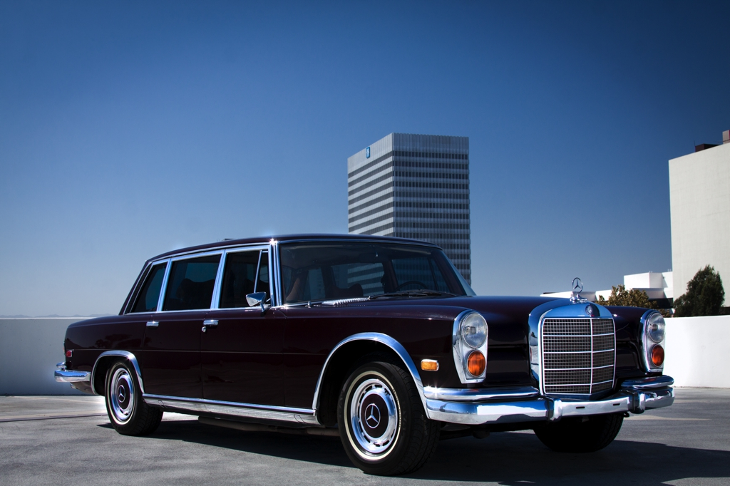 Jack nicholson drove this mercedes 600 after pleading for for Mercedes benz 600s