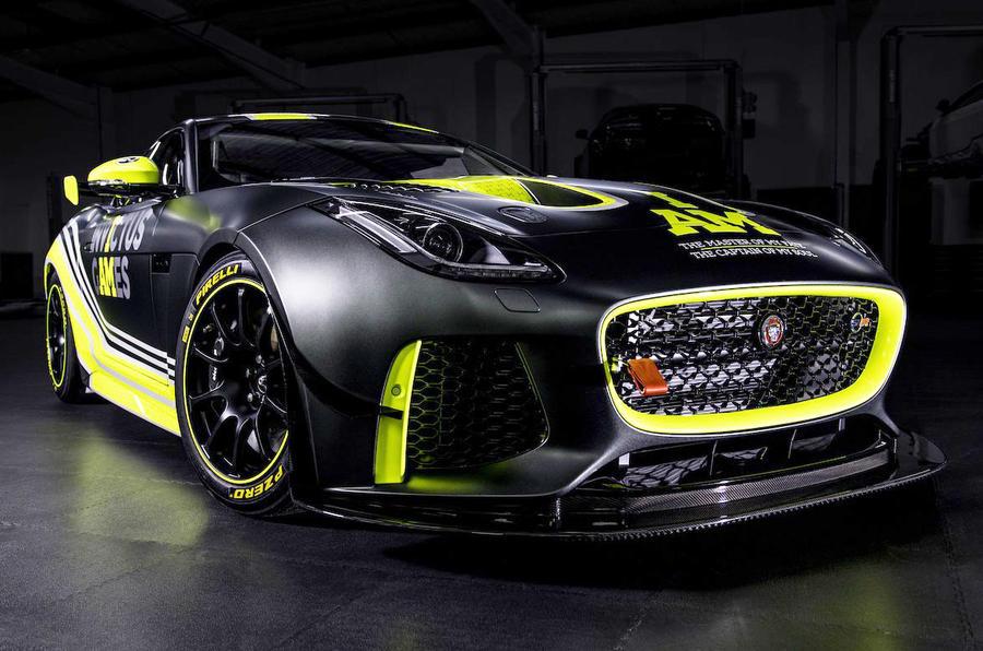 Jaguar And Invictus Games Racing Field F-Type SVR GT4 Racing Car ...