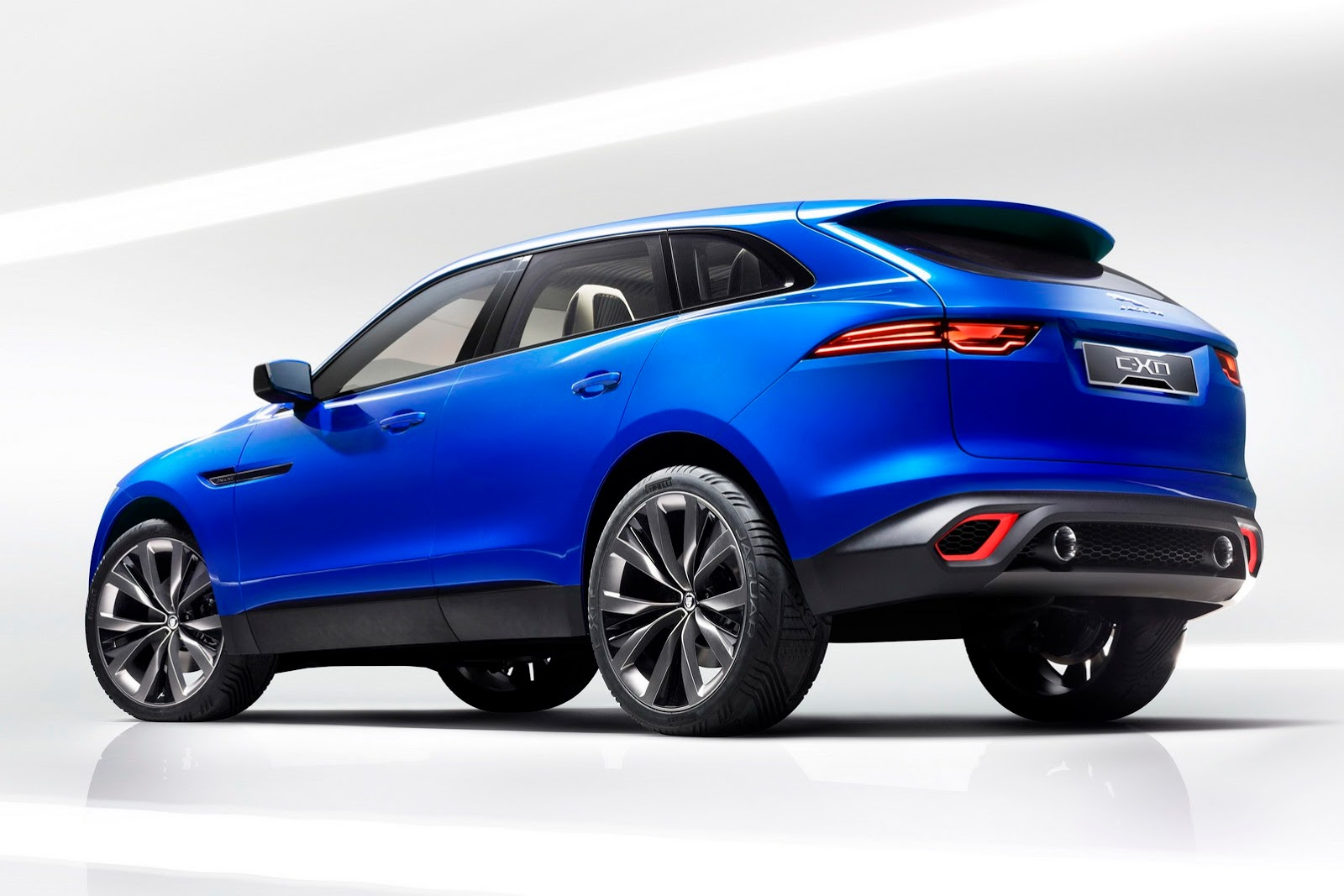 Jaguar C-X17 Crossover Concept Fully Revealed - autoevolution