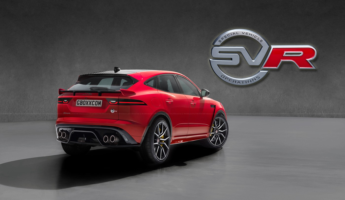 2017 Jaguar Lineup >> Jaguar E-Pace, XF, XJ Get The SVR Digital Makeover - autoevolution