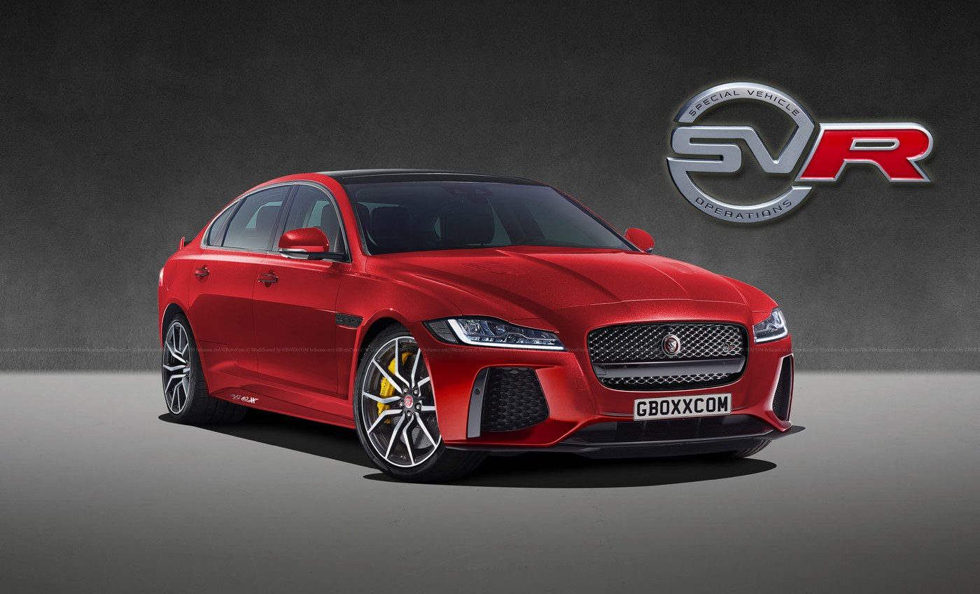jaguar e-pace  xf  xj get the svr digital makeover