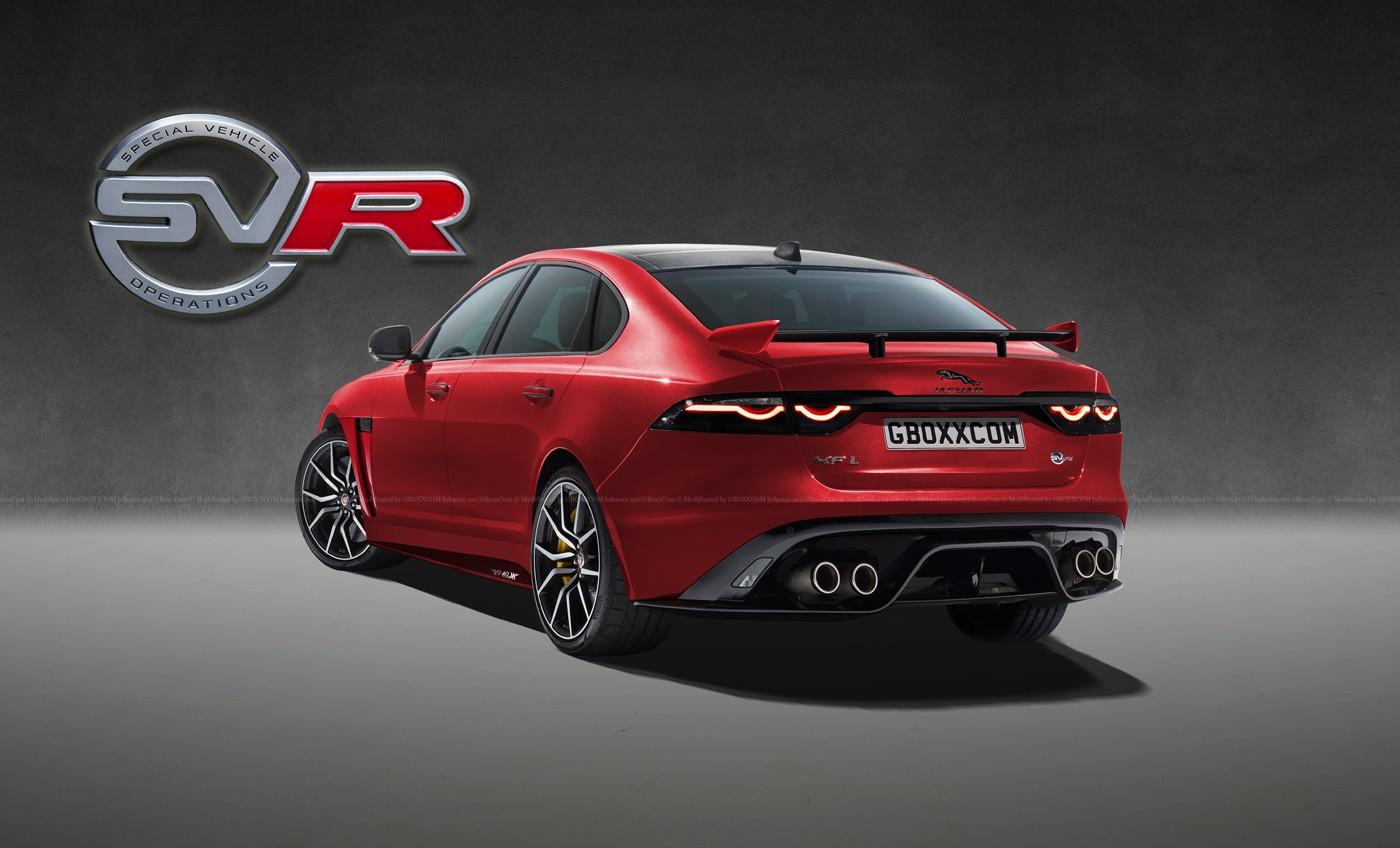 Jaguar E-Pace, XF, XJ Get The SVR Digital Makeover - autoevolution