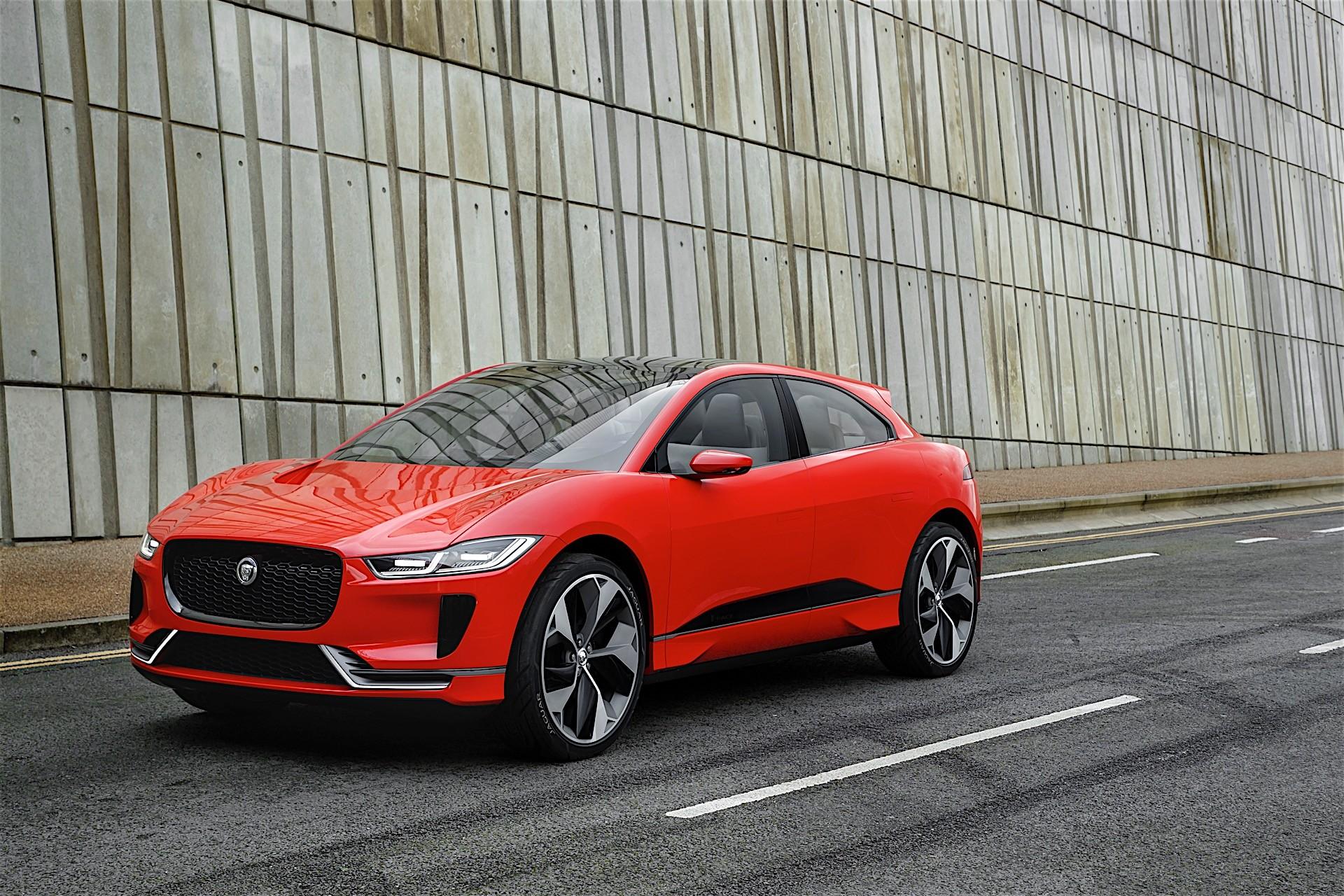 jaguar electric suv to debut at 2017 frankfurt motor show. Black Bedroom Furniture Sets. Home Design Ideas