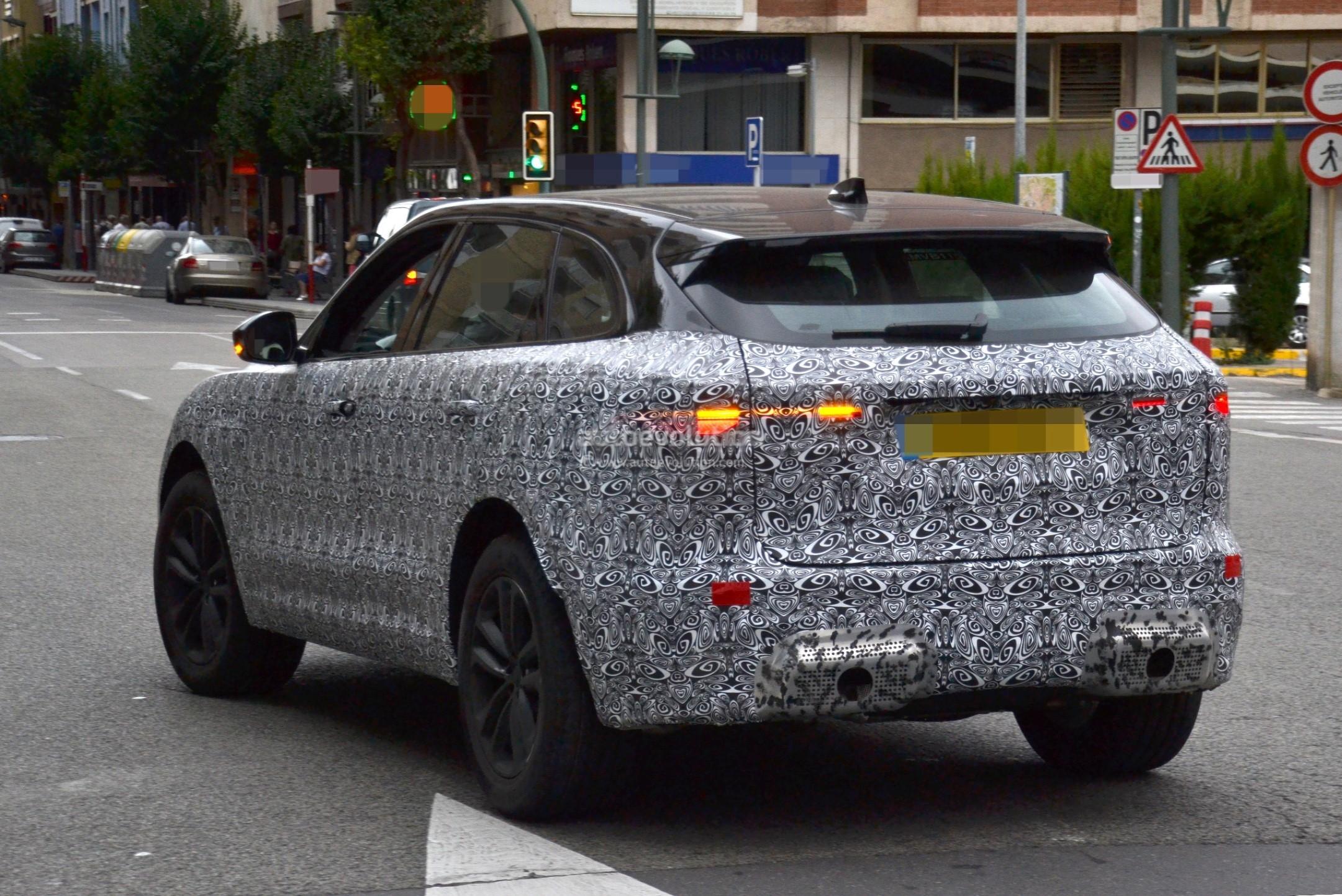 2021 Jaguar F-Pace Spied Testing In Spain, Looks More ...
