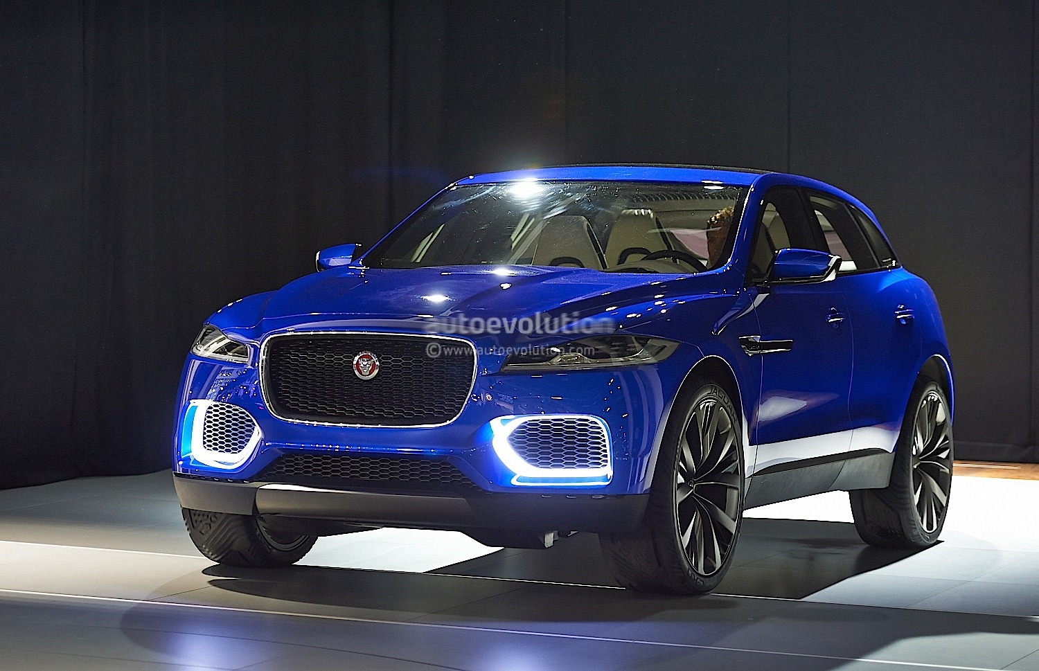Most Expensive Car In The World >> Jaguar F-PACE: Performance Crossover Name Revealed in Detroit, to Debut in 2016 - autoevolution
