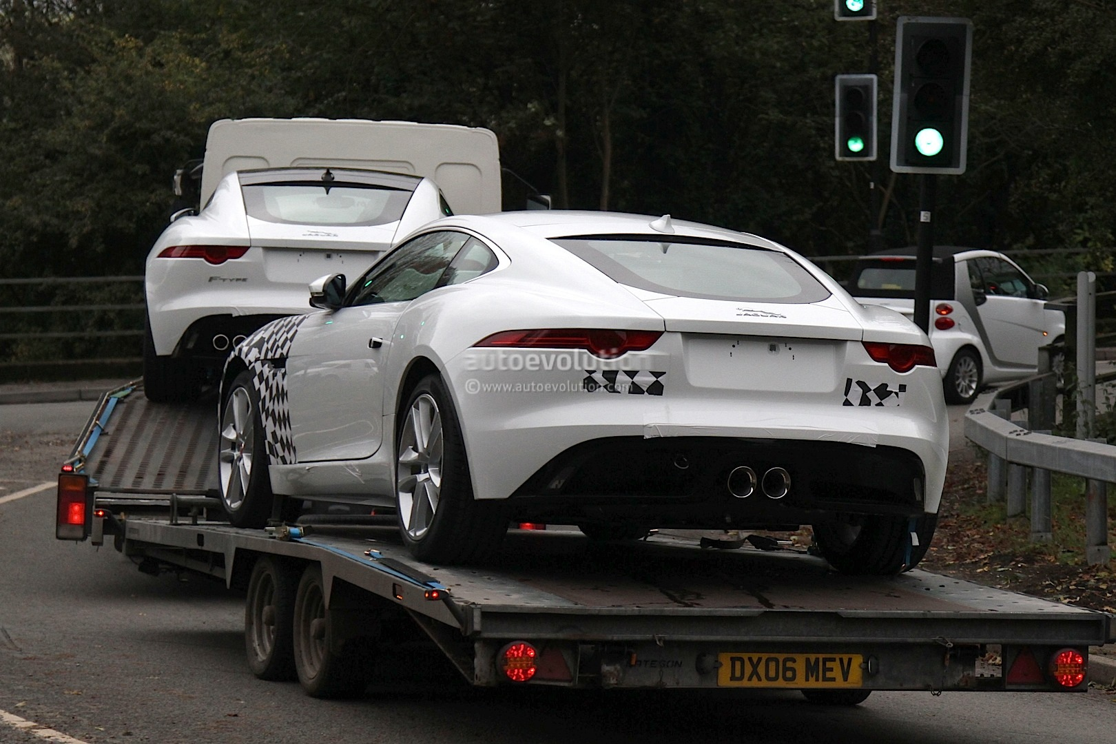 Jaguar FType AWD Production Models Spied Ahead Of LA Launch - All wheel drive jaguar