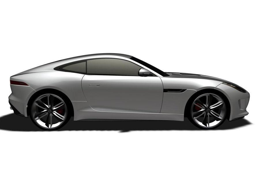 Jaguar F Type Coupe Patent Images Hint At Production Model