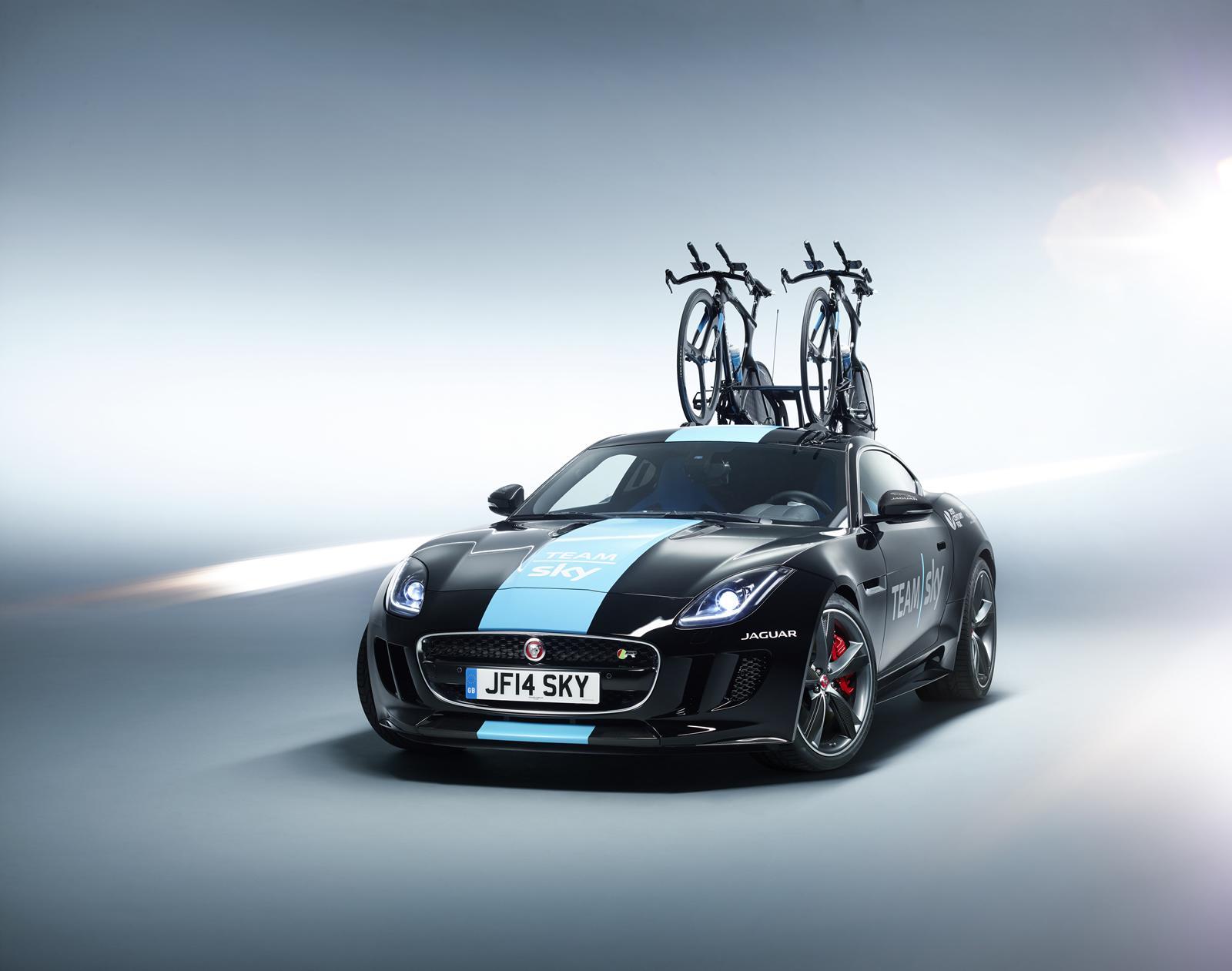 Jaguar F-Type Gets Carbon Fiber Bike Rack for Tour de France [Video] - autoevolution