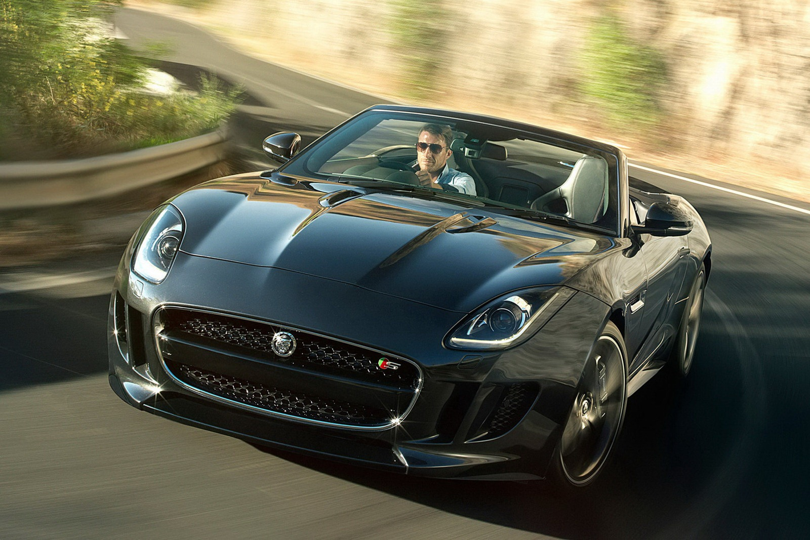 jaguar f type officially unveiled autoevolution. Black Bedroom Furniture Sets. Home Design Ideas