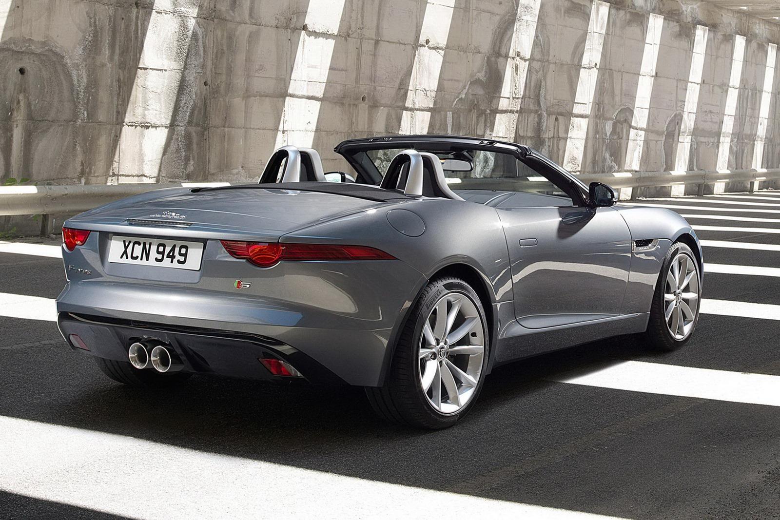 Jaguar f type officially unveiled autoevolution jaguar f type publicscrutiny Gallery