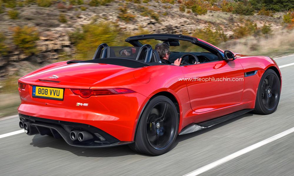 Jaguar F-Type RS Rendering - autoevolution