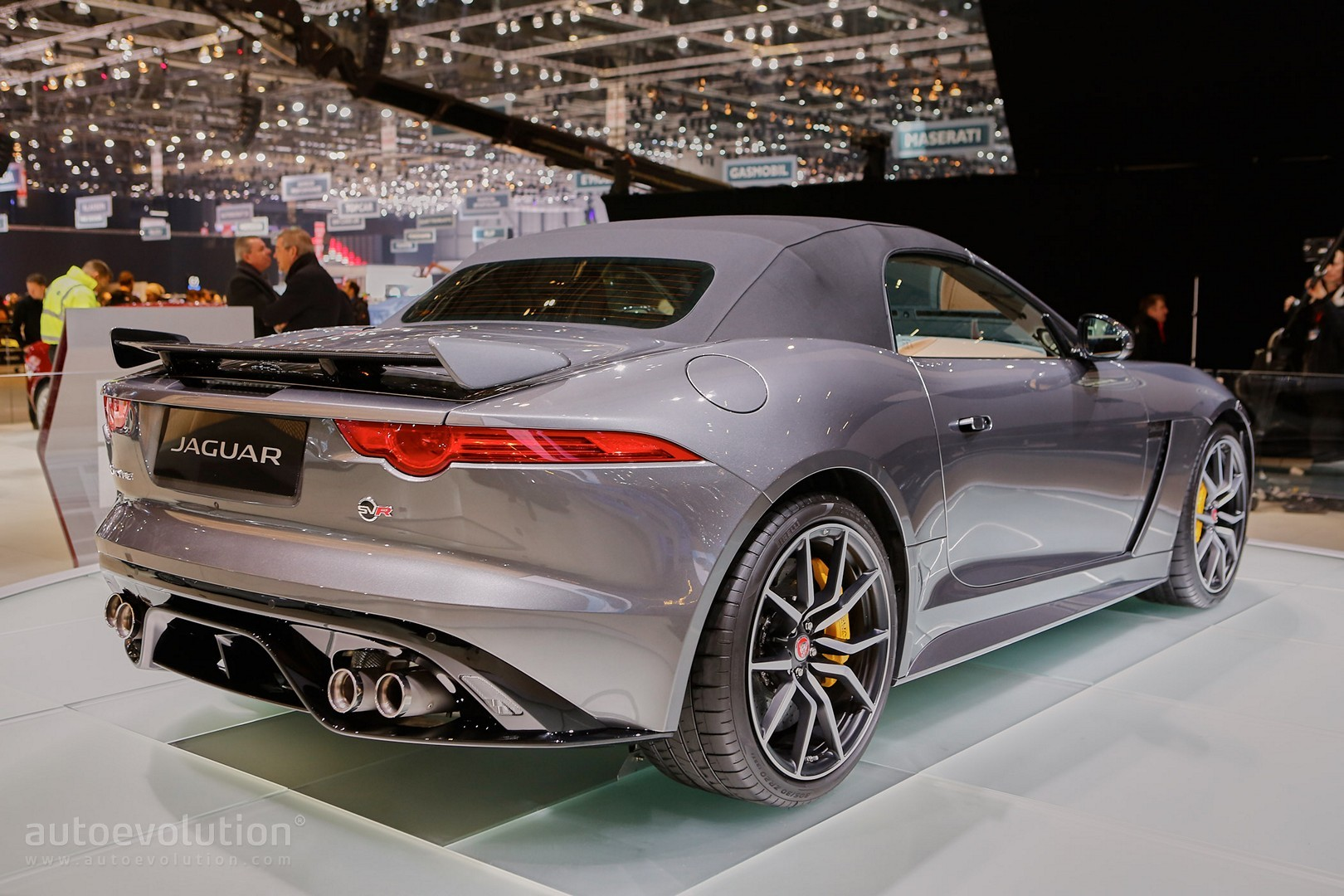 New Jaguar FType SVR Coupe And Convertible Show The True