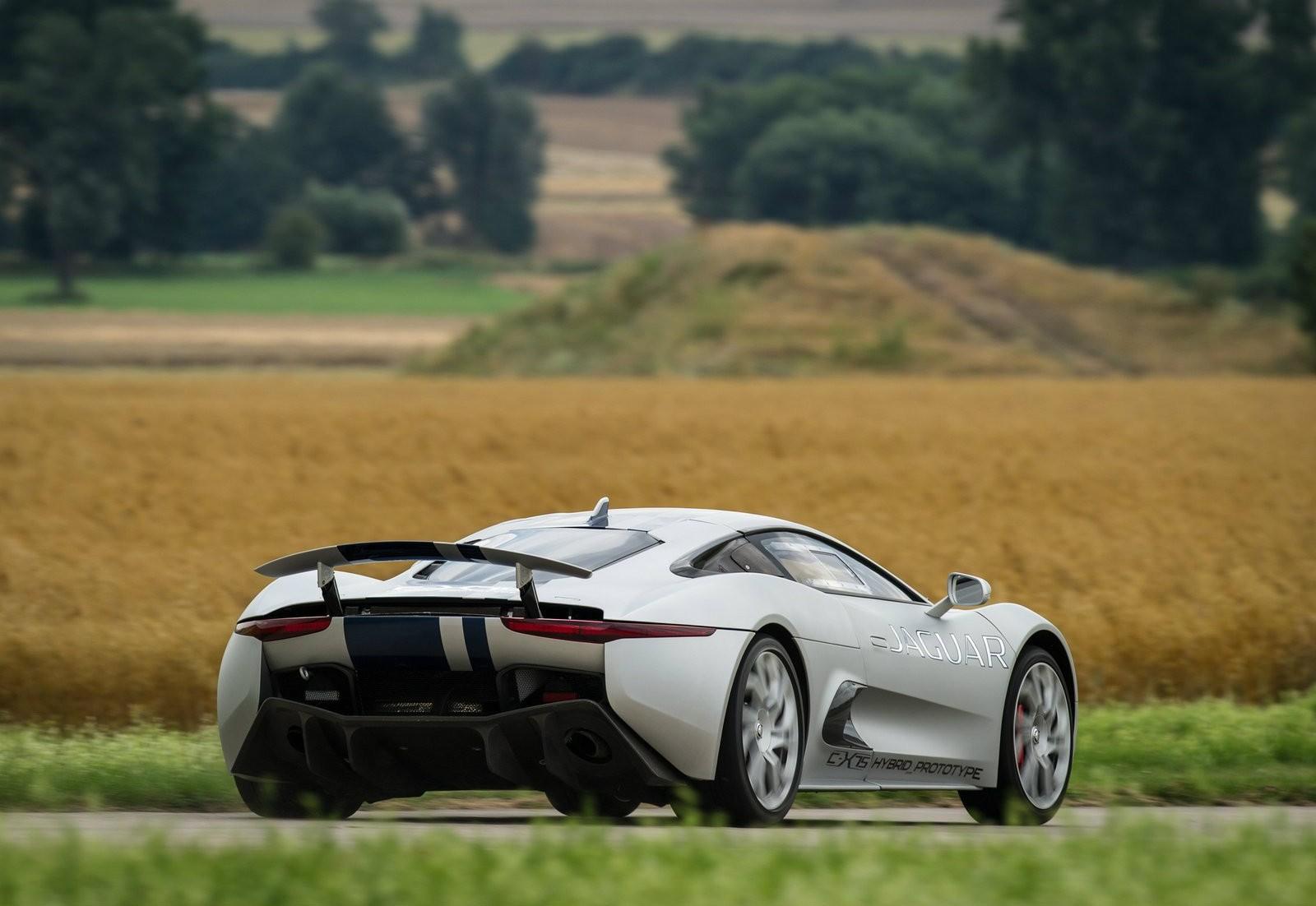 ... Jaguar C X75 ...
