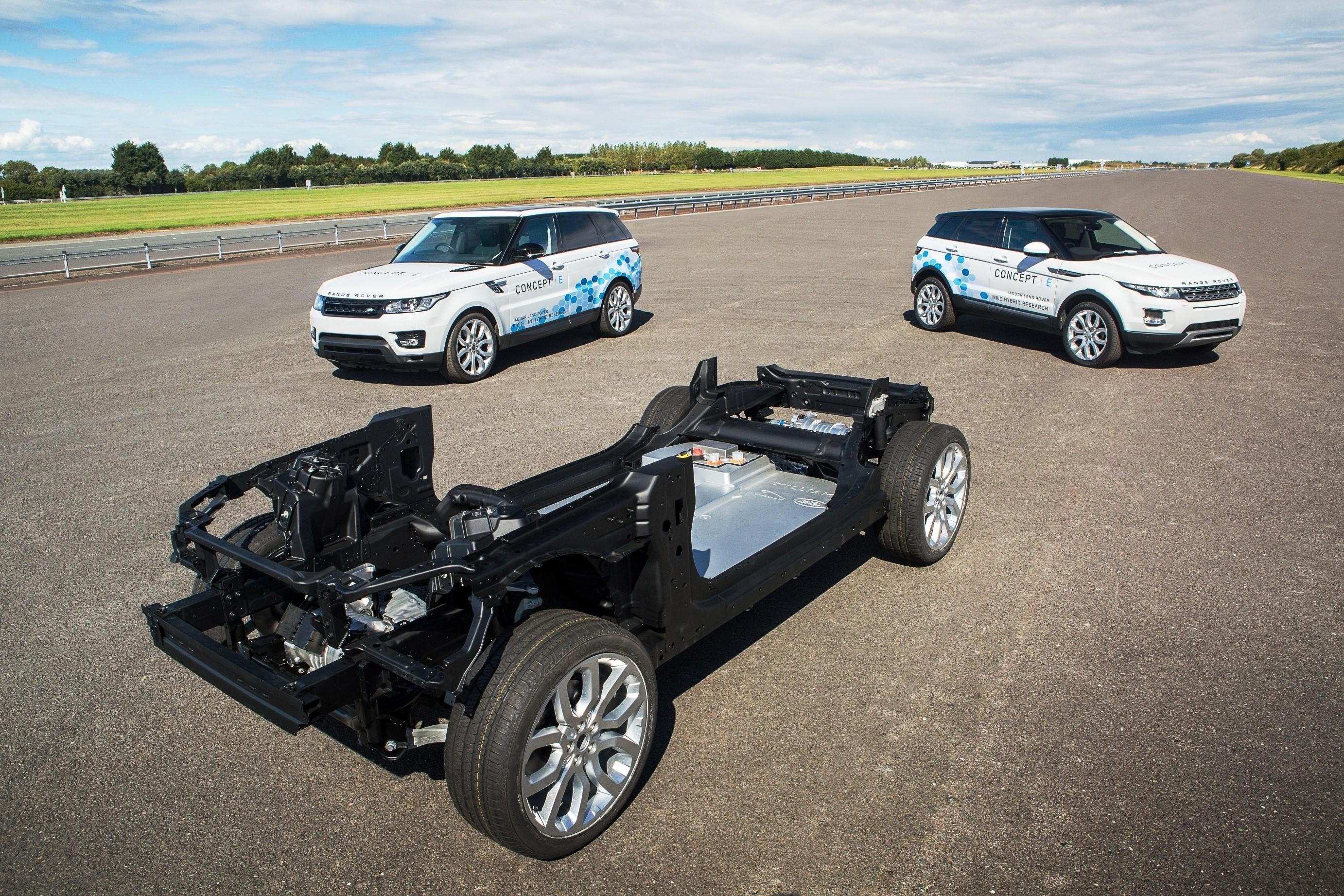jaguar land rover unveil three low and zero emission platforms at cenex autoevolution. Black Bedroom Furniture Sets. Home Design Ideas