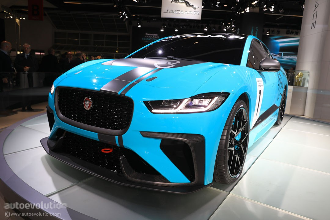 Jaguar Launches The World S First Electric Production Car