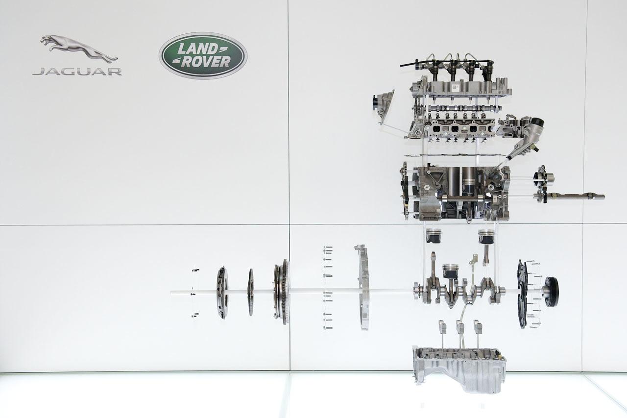 Jaguars Ingenium Range Prepares For The Launch Of Inline Six – Inline Engine Diagram