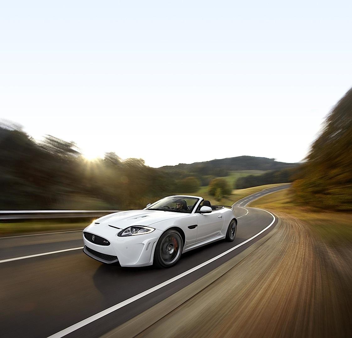 Jaguar Unveils Fastest Open-Top GT: XKR-S Convertible