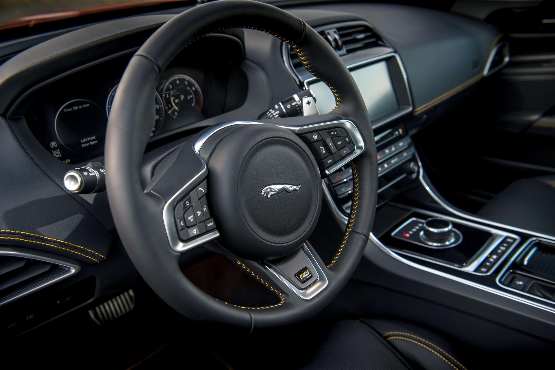 Jaguar Car Xj Interior Jaguar XE 300 Sport De...