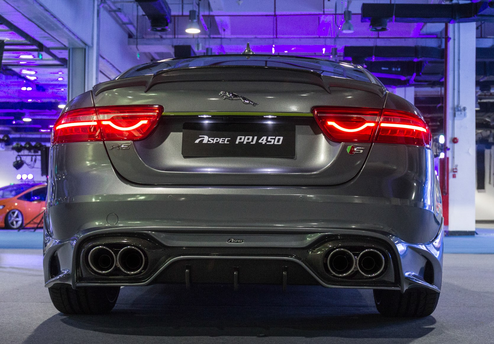 Jaguar XE Body Kit With Vented Hood Comes from China's Tuner Aspec - autoevolution