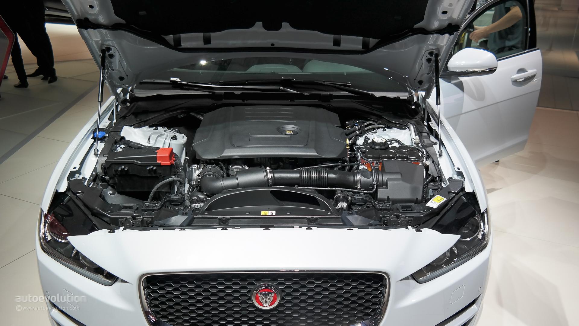 jaguar xe debuts at paris, pricing announced, ingenium engine lineup