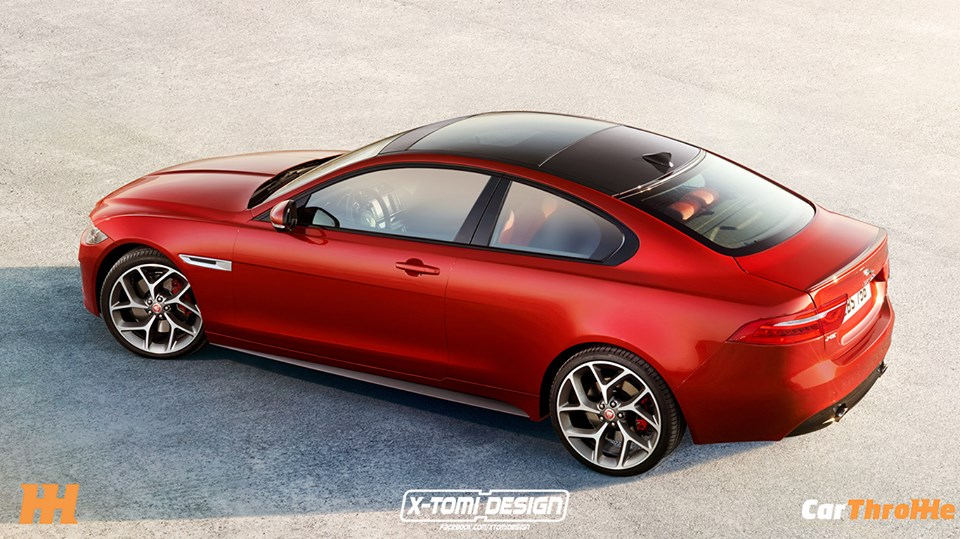 Jaguar Xe S Coupe Rendered Looks Even Better Than The
