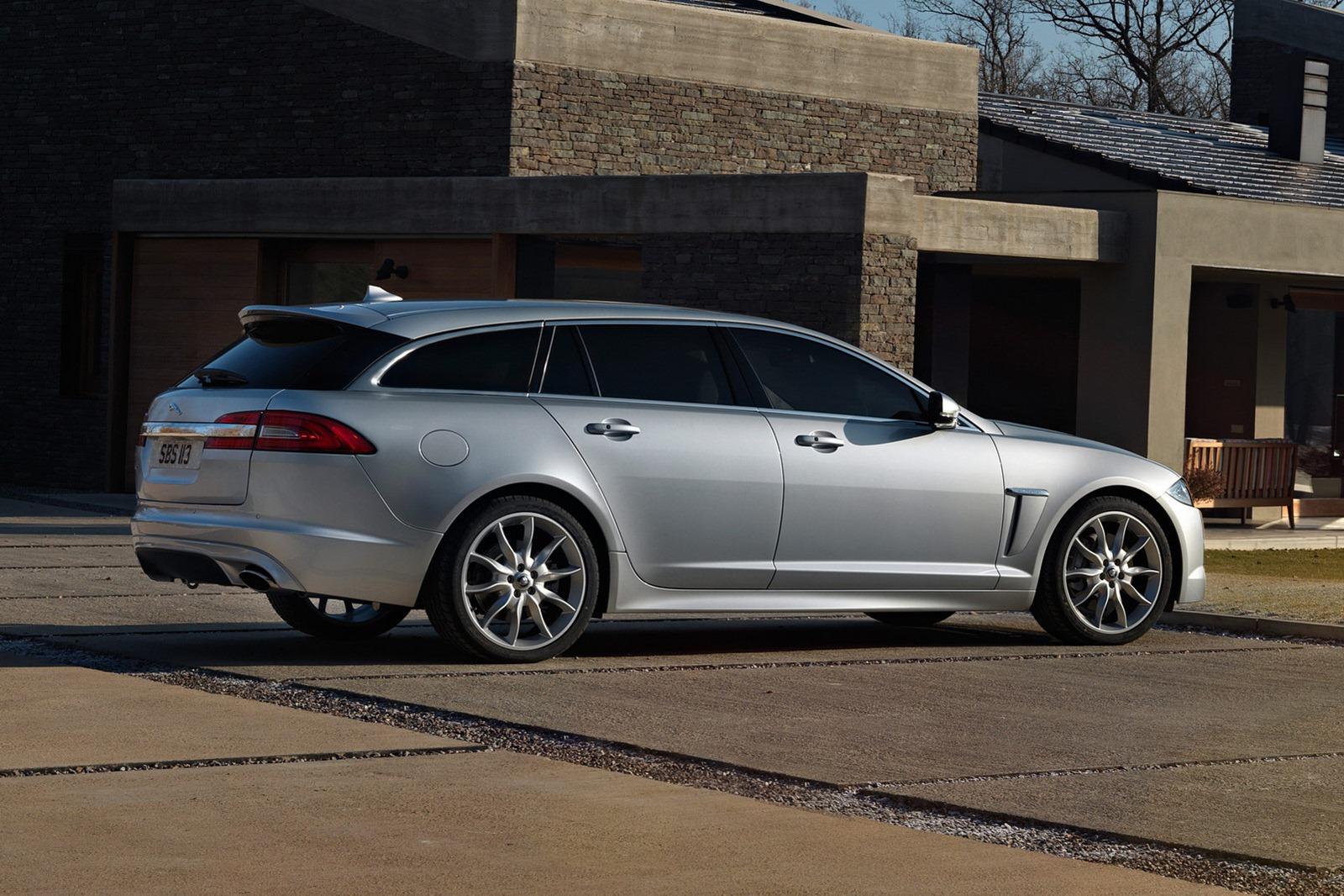Jaguar XF Sportbrake Estate Revealed  autoevolution