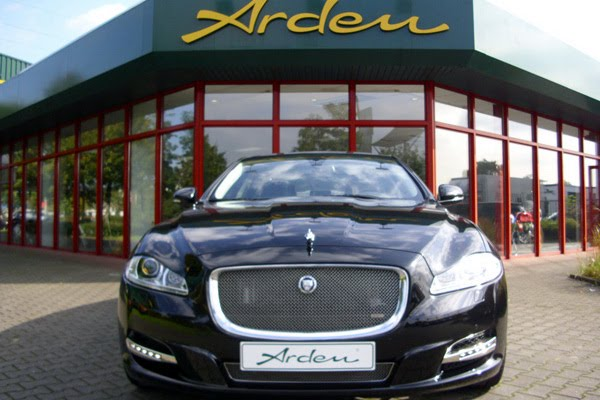 jaguar xj gets an arden touch autoevolution