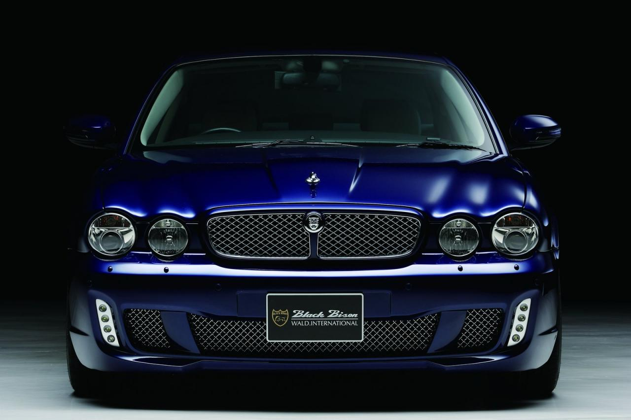jaguar xj x350 black bison comes in blue autoevolution. Black Bedroom Furniture Sets. Home Design Ideas