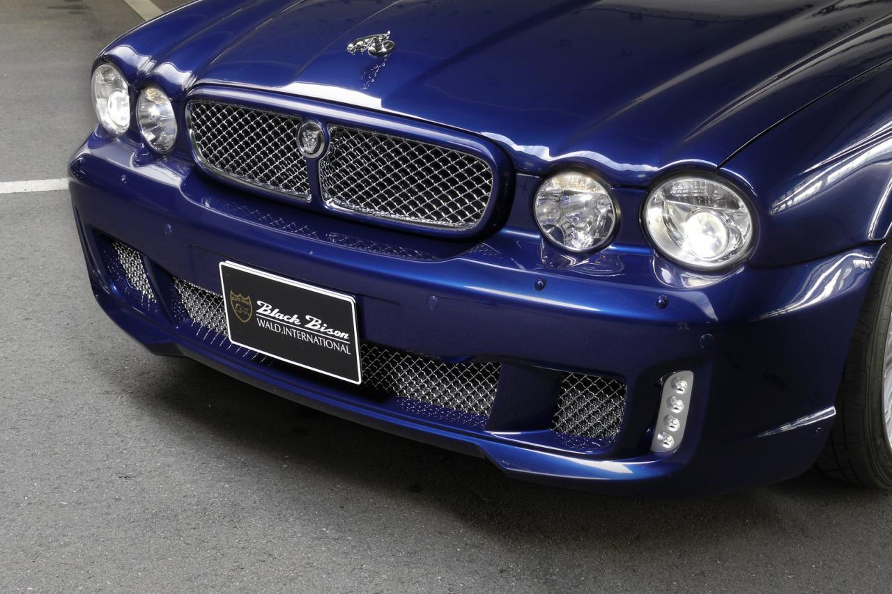 Jaguar Xj X350 Black Bison Comes In Blue Autoevolution
