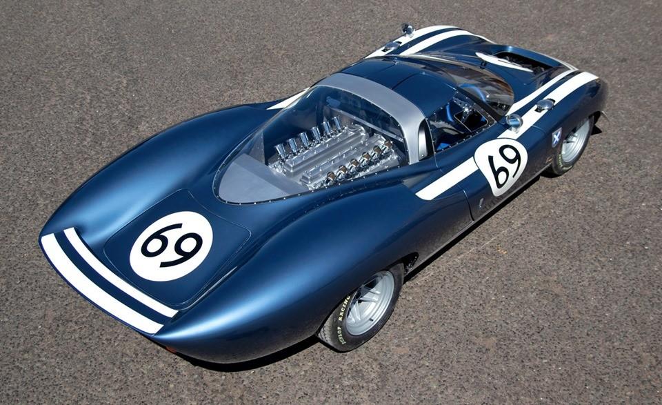 Jaguar XJ13 reborn as Ecurie Ecosse LM69