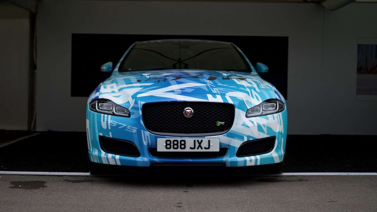jaguar xjr updated with 575horsepower supercharged v8
