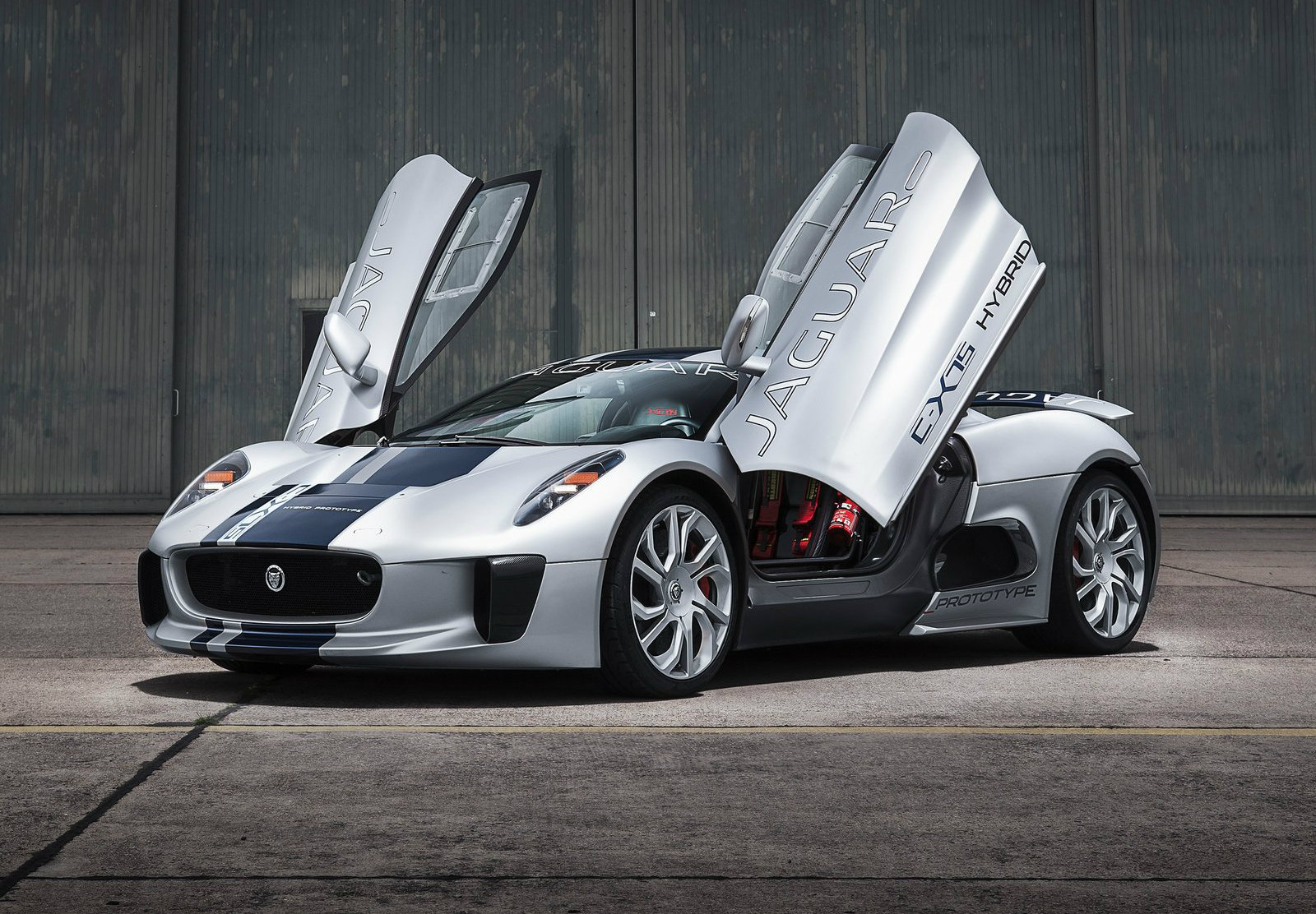 James Bond SPECTRE To Star Jaguar C X75 Its The Baddies
