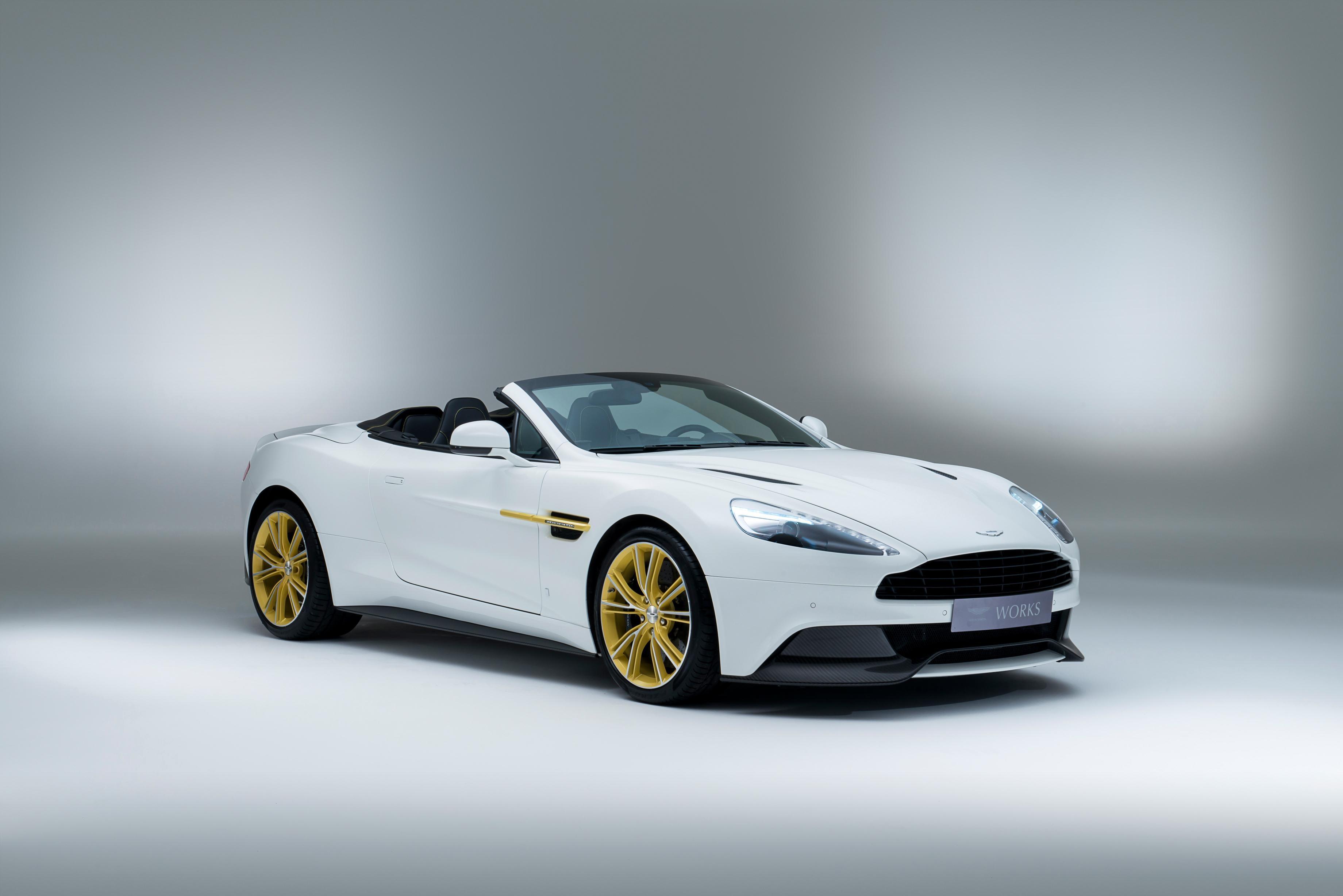 Safest Motorcycle Helmet >> James Bond Wouldn't Drive the Aston Martin Works 60th Anniversary Vanquish - autoevolution