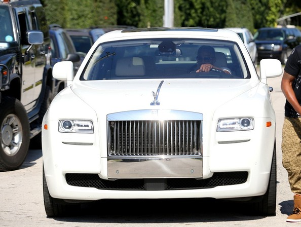 photo of Jamie Foxx Rolls-Royce Ghost - car
