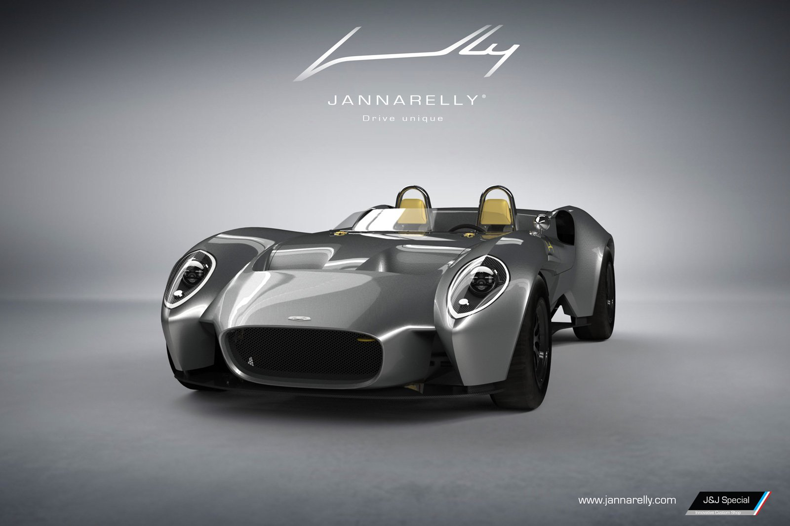 Jannarelly Unveils Its First Car A Retro Looking Supercar That