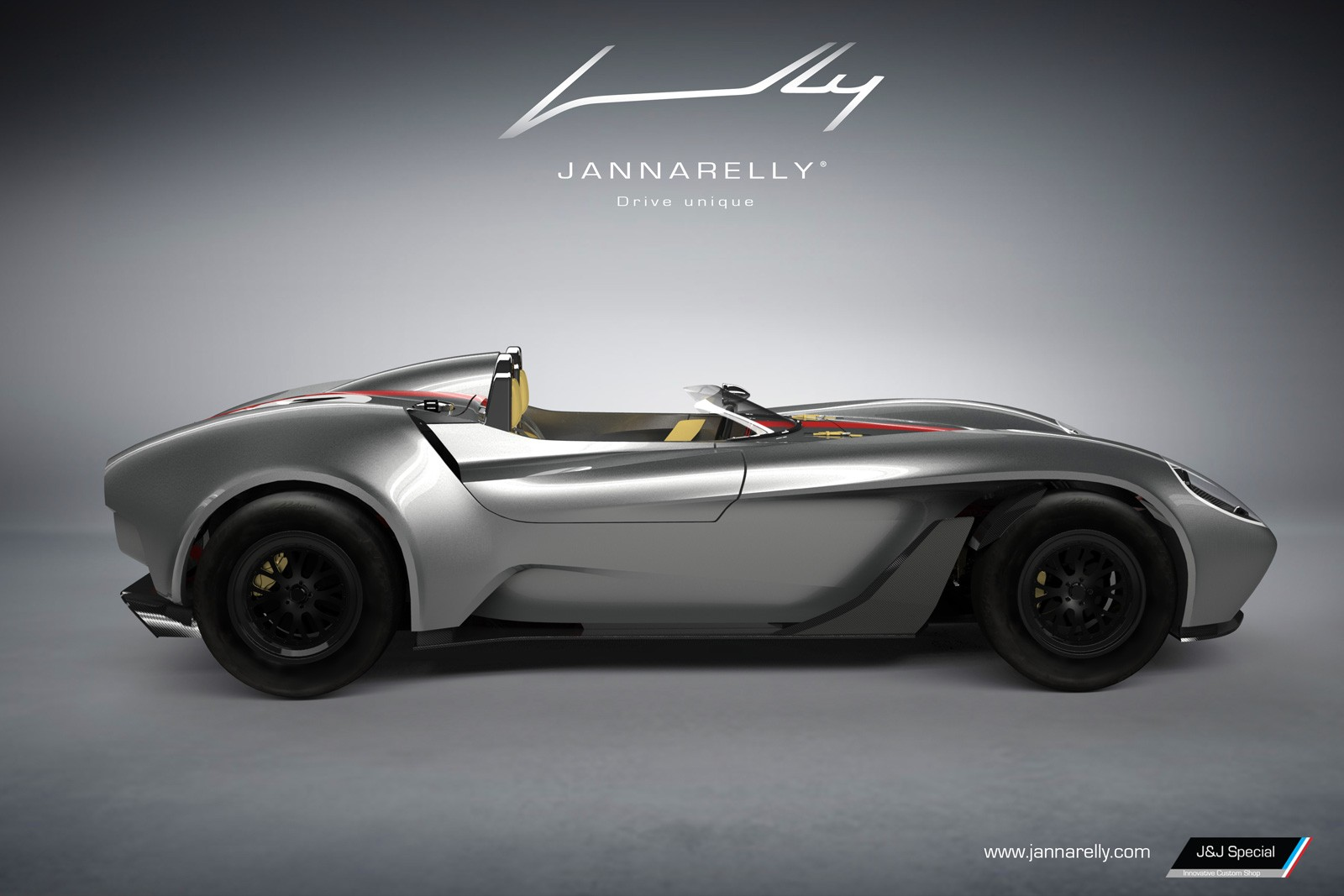 jannarelly unveils its first car a retro looking supercar that costs 55 000 autoevolution. Black Bedroom Furniture Sets. Home Design Ideas