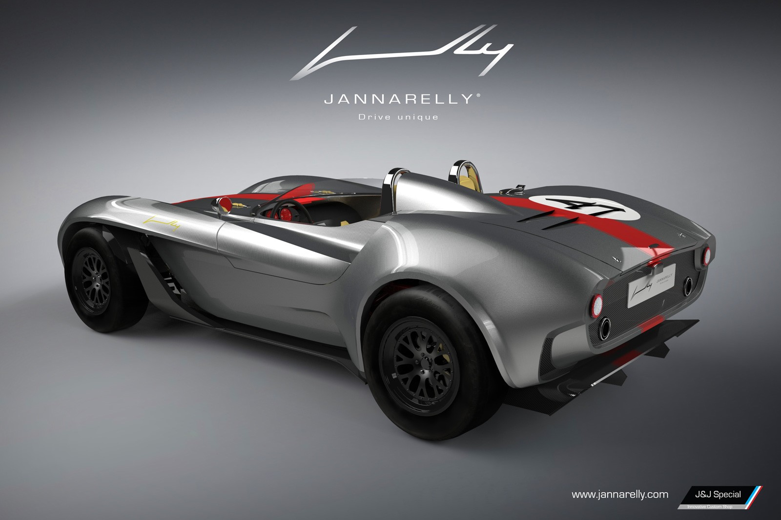 Jannarelly Unveils Its First Car, A Retro-Looking Supercar
