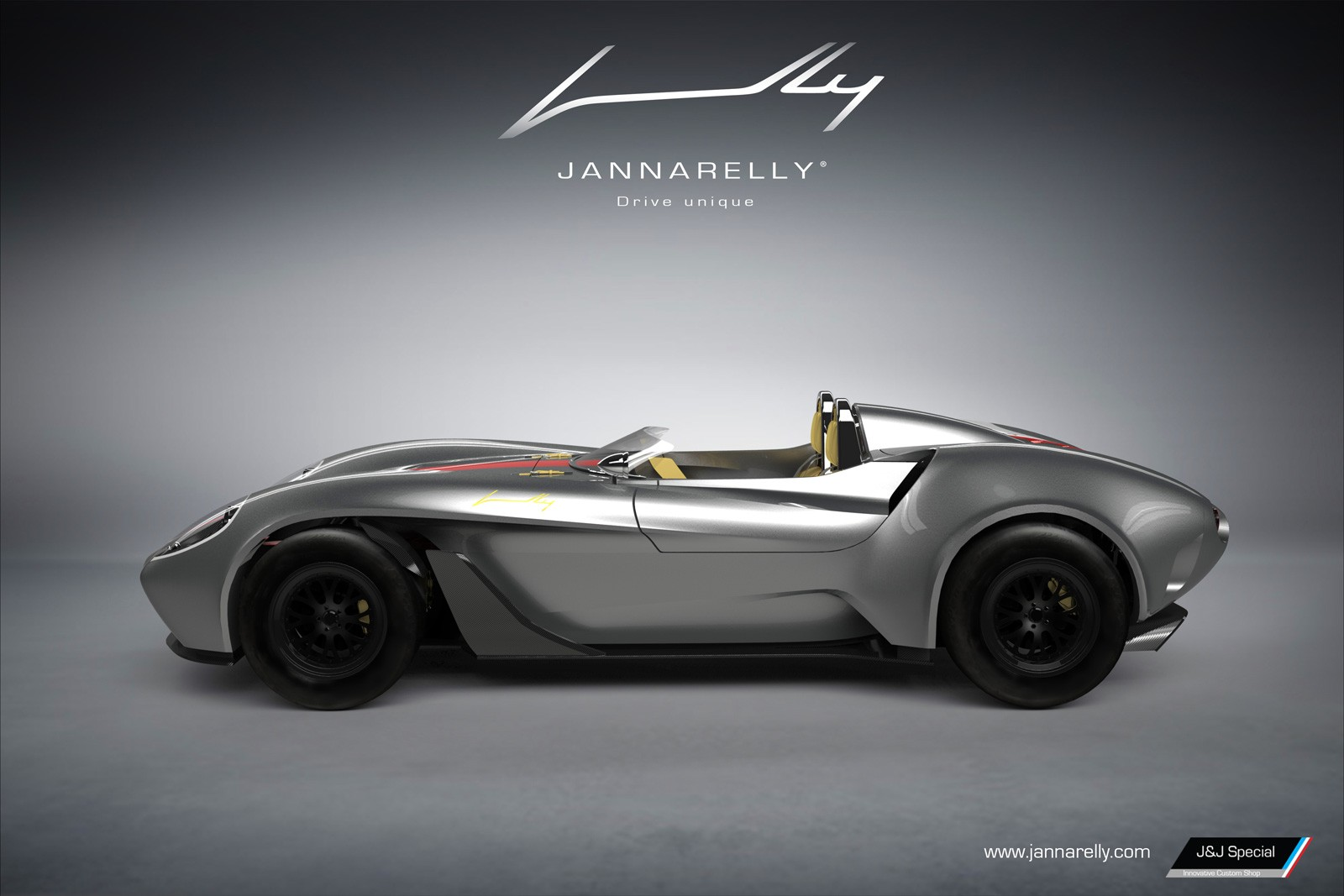Jannarelly Unveils Its First Car, a Retro-Looking Supercar That ...