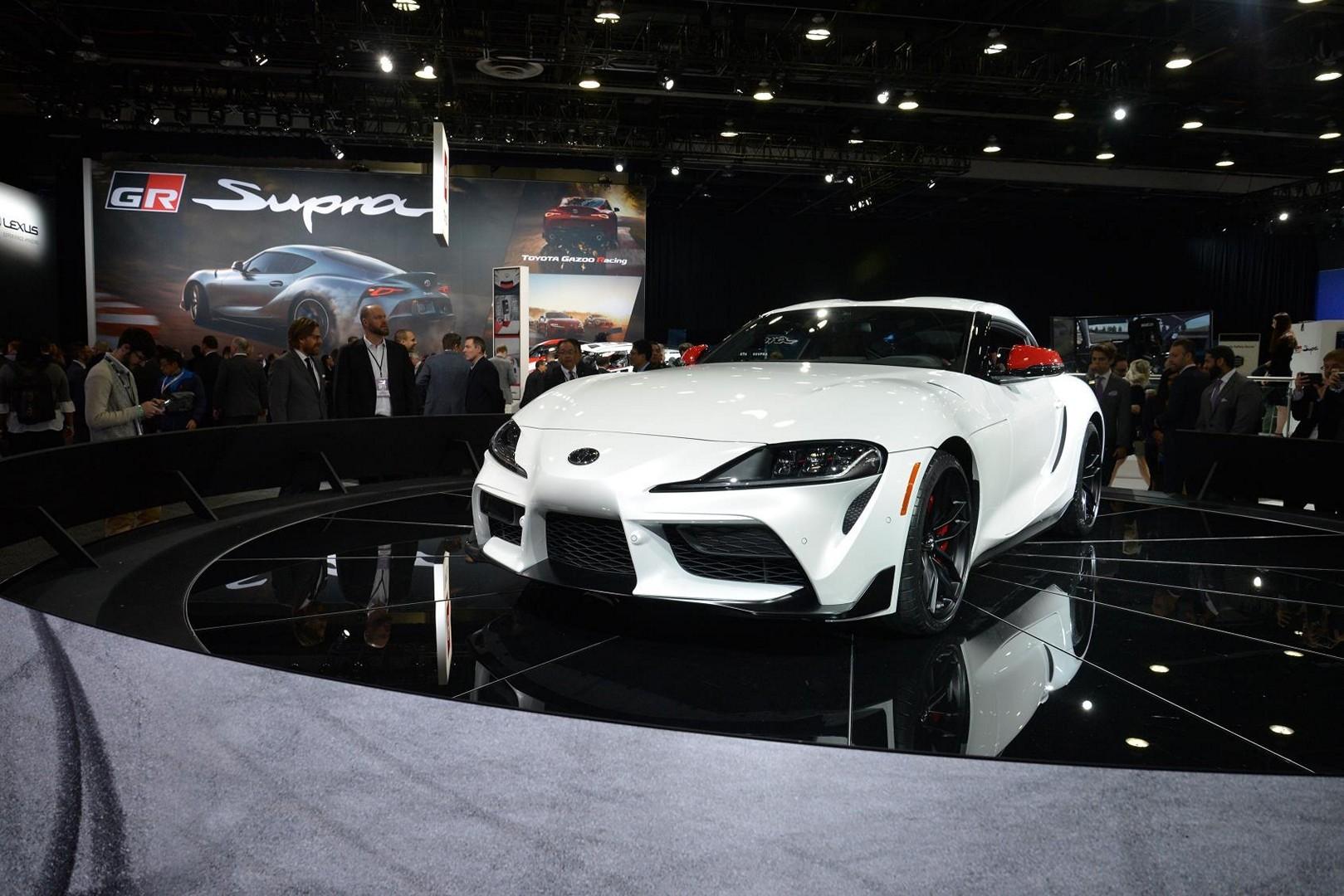 2020 Toyota Supra Lowered On Volk Racing T37 Wheels