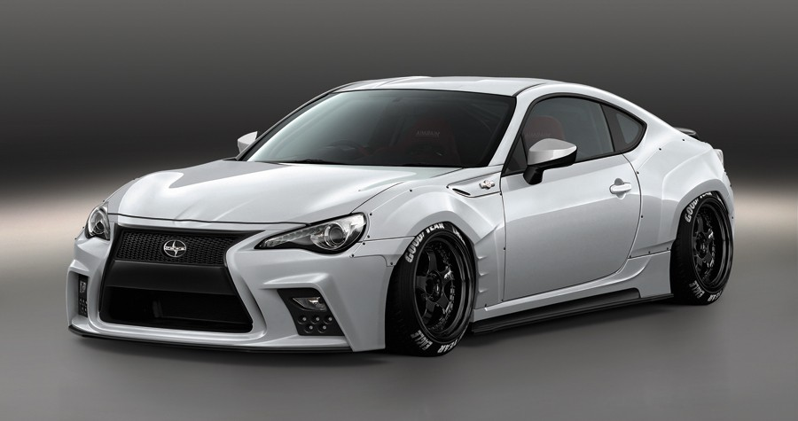 Japanese Kit Turns Toyota Gt Into Lexus Lookalike With Spindle Grille Photo Gallery