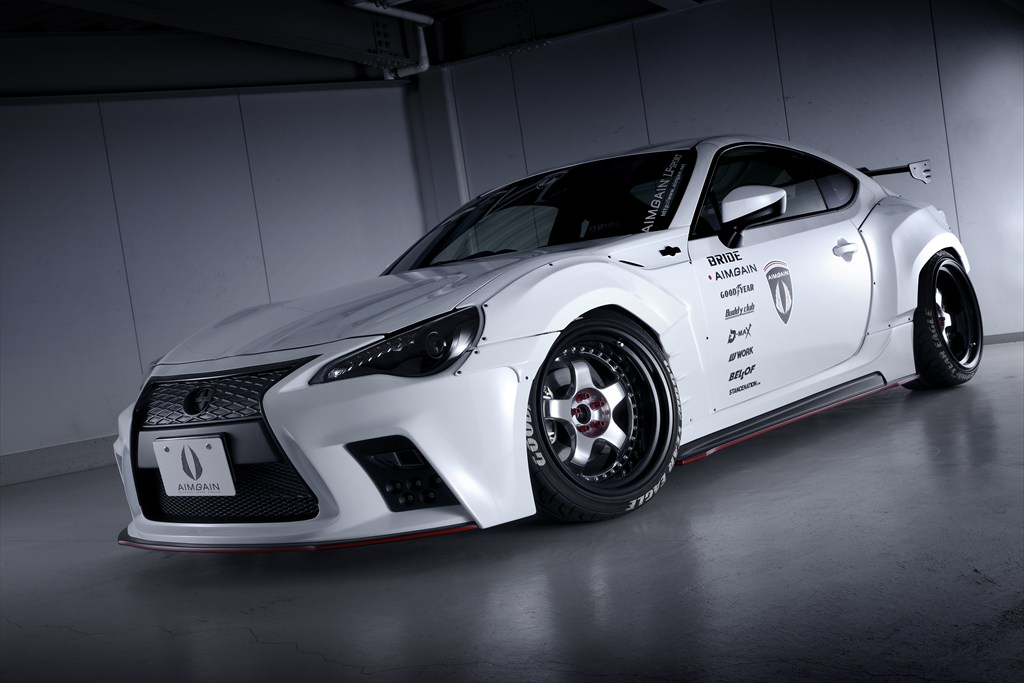 japanese kit turns toyota gt 86 into lexus lookalike with. Black Bedroom Furniture Sets. Home Design Ideas