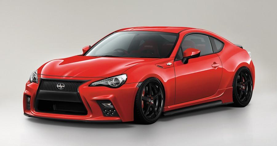 Japanese Kit Turns Toyota GT 86 into Lexus Lookalike with ...