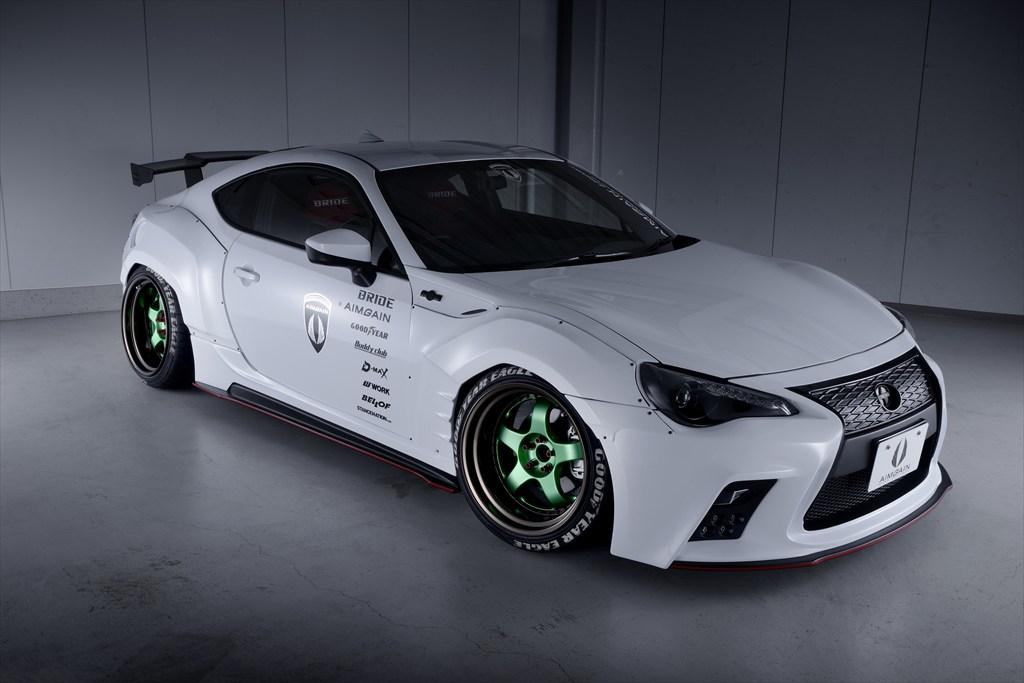 Japanese Kit Turns Toyota Gt 86 Into Lexus Lookalike With